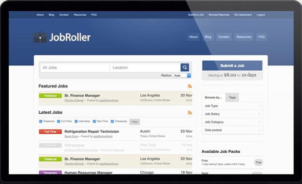 Соискатели и работодатели на JobRoller