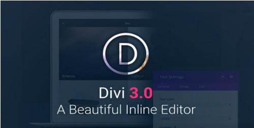 Divi v3.0.51 & PSD & Divi Builder v2.0.13