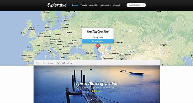 Explorable v1.9.6 связывает ваши сообщения на карте