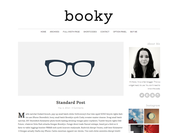 Booky v2.0.1 минималистический стиль