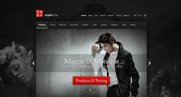 Style Shop WordPress