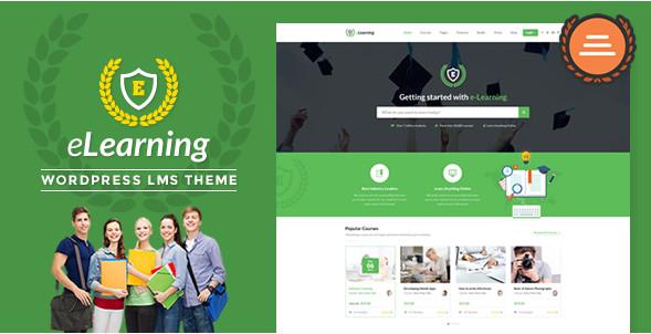 eLearning WP v3.0 тема обучение