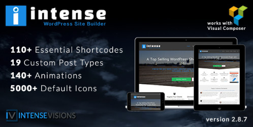 Intense v2.8.9 - строитель шорткодов для WordPress