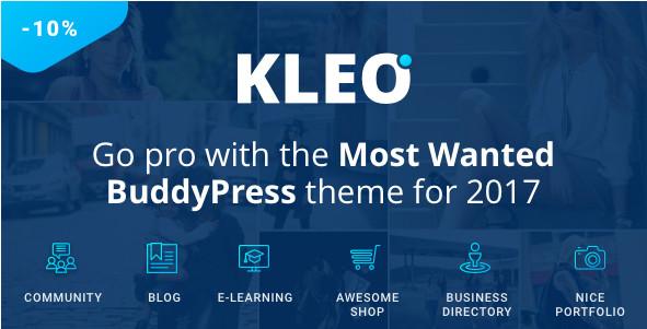 KLEO v4.2.7 - Тема WordPress следующего уровня