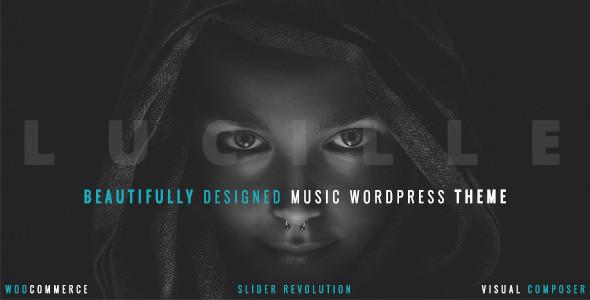 Lucille v2.0 - Музыкальная тема WordPress