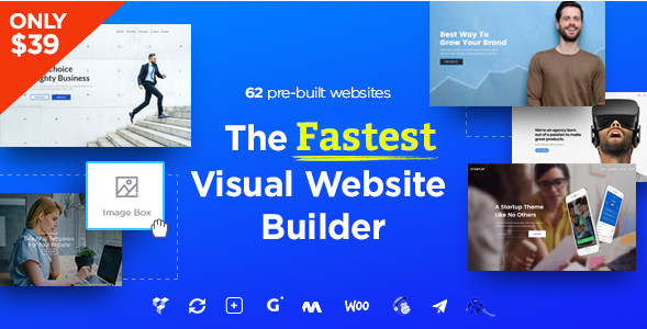 Massive Dynamic v4.4 - Деловая тема WordPress