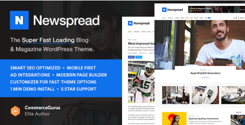 Newspread - журнал, блог, газета и обзор