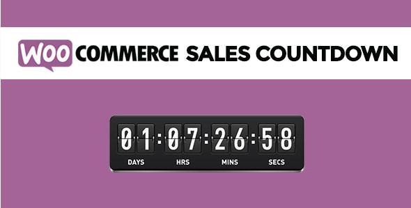 Обратный отсчет продаж v2.2.2 WooCommerce