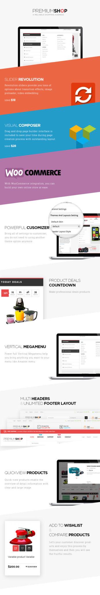 Premiumo v1.6.1 - Тема покупки WooCommerce-1