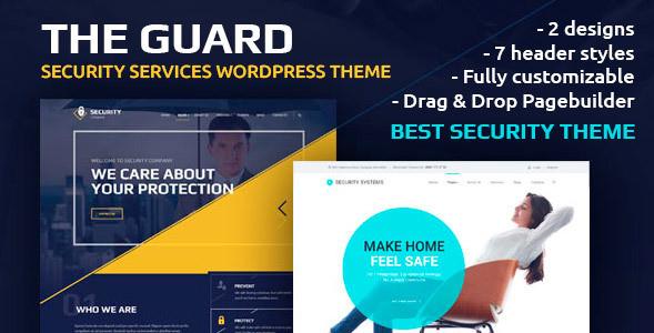 The Guard v1.6.1 - тема безопасности WordPress