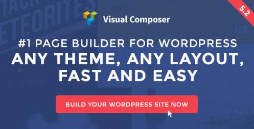 Visual Composer v5.2 - построитель страниц для WordPress